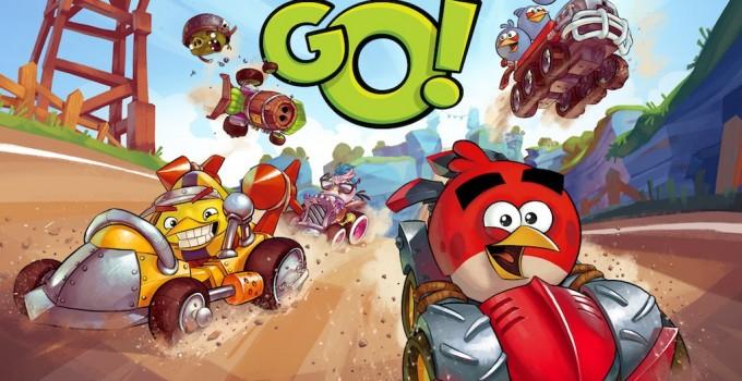 เกมส์นก Angry bird go