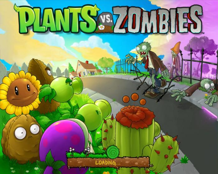 เกมส์ Plants vs Zombies