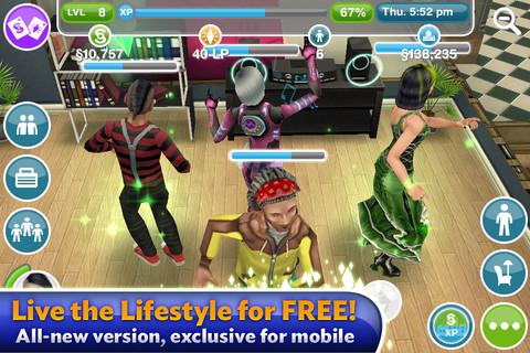 เกมส์ The sim บน ipad